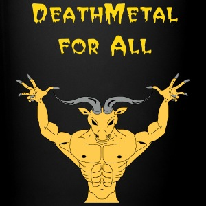 Tasse Minotaure or  'DeathMetal for All' - Tasse en couleur