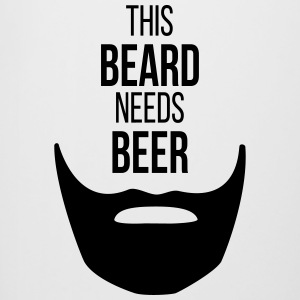 THIS BEARD NEEDS BEER - Bierkrug