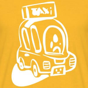 TShirt Taxi Junior Yellow - Männer T-Shirt