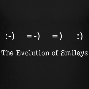 Evolution of Smileys T-Shirts - Teenager Premium T-Shirt