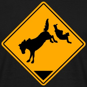 Rodeo Road Sign T-Shirts - Männer T-Shirt