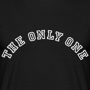 The Only One Collegestyle T-Shirts - Männer T-Shirt