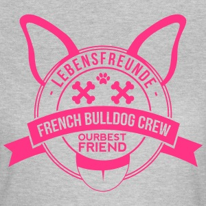 French Bulldog Crew - Frauen T-Shirt