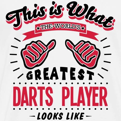 darts player worlds greatest looks like