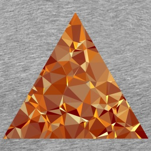Triangle (low poly) T-Shirts - Men's Premium T-Shirt