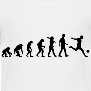 Evolution of Soccer T-Shirts - Kinder Premium T-Shirt