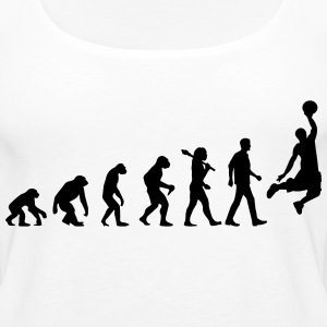 Evolution of Basketball Tops - Frauen Premium Tank Top