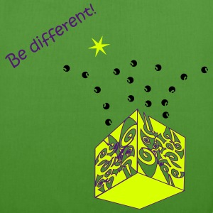 Be different - EarthPositive Tote Bag