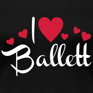 Ballett T-Shirts - Frauen Premium T-Shirt