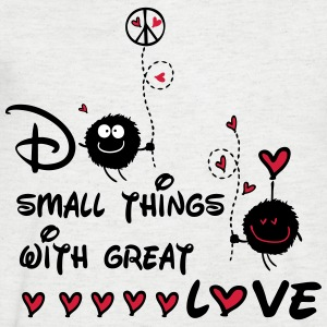 do small things with great love Men's V-Neck T-S - Men's V-Neck T-Shirt
