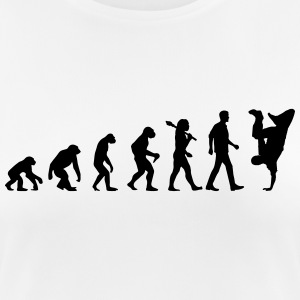 Evolution of Breakdance Sportbekleidung - Frauen T-Shirt atmungsaktiv