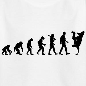 Evolution of Breakdance T-Shirts - Kinder T-Shirt