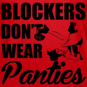 Blockers don't wear panties Top - Canotta premium da donna