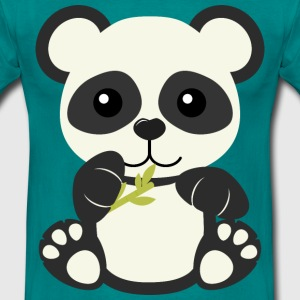 Kawaii Cute Panda Bear Cub - Men's T-Shirt