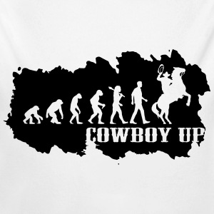 Cowboy Up - Premium Shirt Baby Bodys - Baby Bio-Langarm-Body