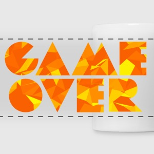 Game Over (Low Poly) Mugs & Drinkware - Panoramic Mug