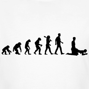 Evolutioin of Men T-Shirts - Männer Bio-T-Shirt