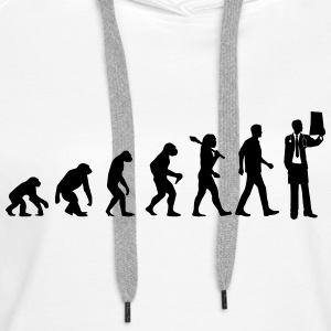 Evolution of Doctors Pullover & Hoodies - Frauen Premium Hoodie