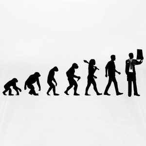 Evolution of Doctors T-Shirts - Frauen Premium T-Shirt
