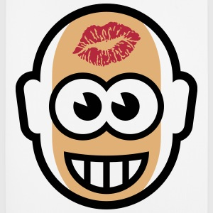 Baldy With Kiss On Forehead (3C) Other - Mouse Pad (vertical)