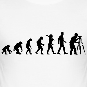 Evolution Of Engineers T-Shirts - Männer Slim Fit T-Shirt