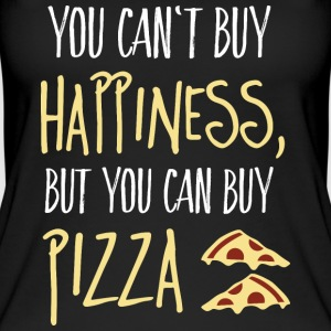 Cant buy happiness, but pizza kan kopen geluk, maar pizza Tops - Vrouwen bio tank top