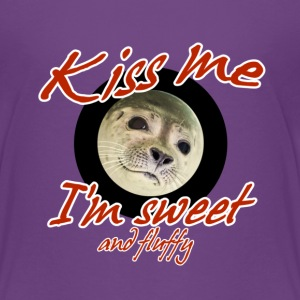 Sweet & Fluffy - Seal Shirts - Kids' Premium T-Shirt
