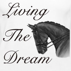 Living The Dream - Vest Top - Women's Premium Tank Top