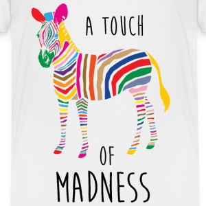 A Touch of Madness - Zebra - Color your Life ! T-shirts - Børne premium T-shirt