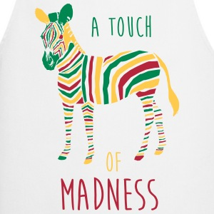 A Touch of Madness - Zebra - Color your Life !  Aprons - Cooking Apron