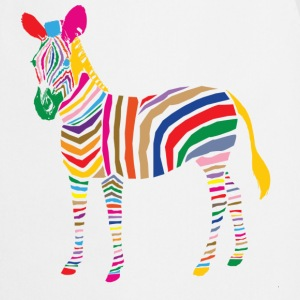 A Touch of Madness - Zebra - Color your Life ! Kookschorten - Keukenschort