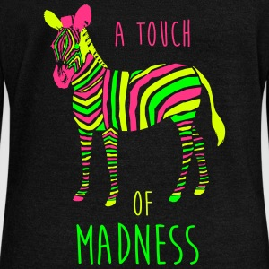 A Touch of Madness - Zebra - Color your Life ! Sweaters - Vrouwen trui met U-hals van Bella