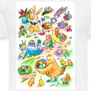 Easter egg party - Men's Premium T-Shirt
