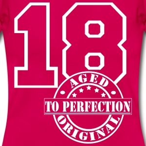 18 Aged to Perfection T-Shirts - Frauen T-Shirt
