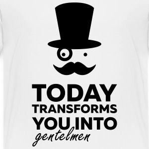 gentleman today ? - T-shirt Premium Ado
