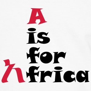A is For Africa - Men's Ringer Shirt