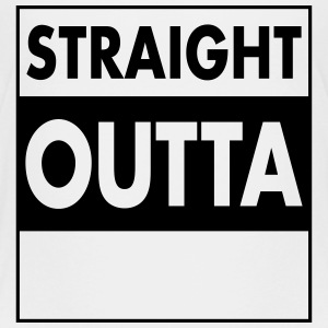 Straight Outta - Your Text (Font = Futura) Shirts - Kids' Premium T-Shirt