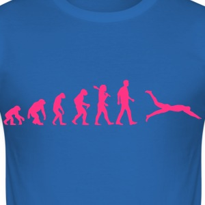 Schwimmer Evolution T-Shirts - Männer Slim Fit T-Shirt