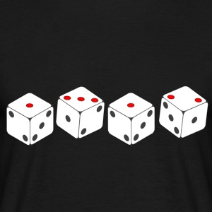 1312 ACAB Dice T-Shirts - Men's T-Shirt