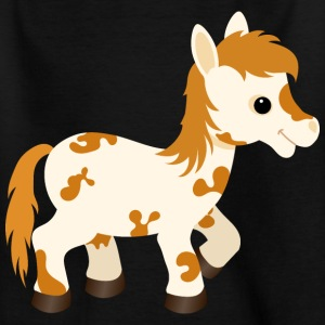 Cute Appaloosa Pony Horse - Teenage T-shirt