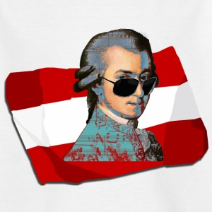 Fanshirt Austria (Mozart) Shirts - Teenage T-shirt