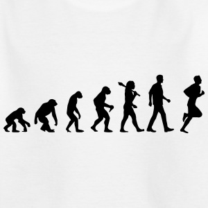 Evolution of Running T-Shirts - Teenager T-Shirt