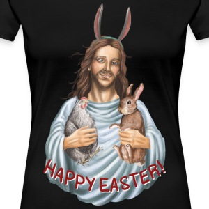 happy easter! Oster Jesus T-Shirts - Frauen Premium T-Shirt