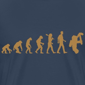 Evolution of Minecraft T-Shirts - Männer Premium T-Shirt