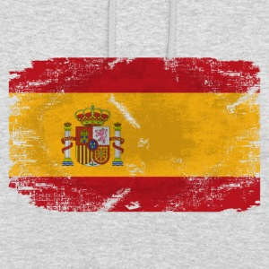 Spain Flag - Vintage Look  Pullover & Hoodies - Unisex Hoodie
