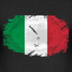 Italy Flag - Vintage Look T-Shirts - Männer Slim Fit T-Shirt