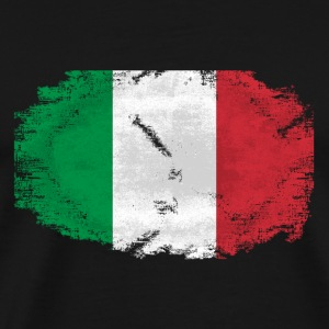 Italy Flag - Vintage Look T-Shirts - Männer Premium T-Shirt
