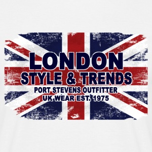 Union Jack - UK Flag - Vintage Look T-Shirts - Männer T-Shirt