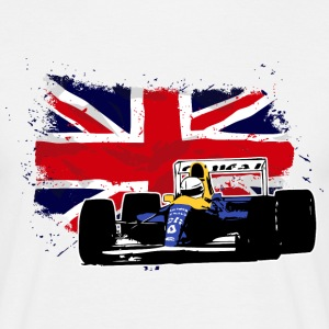 Formula One - Junion Jack - UK Flag T-Shirts - Männer T-Shirt