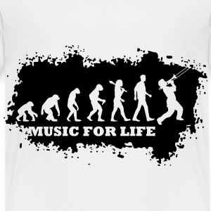 Evolution Of Jazz T-Shirts - Kinder Premium T-Shirt